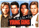 Young Guns - German Movie Poster (xs thumbnail)