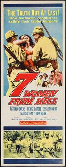 The Seven Women from Hell - Movie Poster (xs thumbnail)