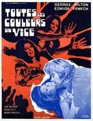 Tutti i colori del buio - French Movie Poster (xs thumbnail)