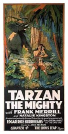 Tarzan the Mighty - Movie Poster (xs thumbnail)