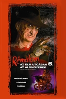A Nightmare on Elm Street: The Dream Child - Hungarian Movie Cover (xs thumbnail)