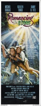 Romancing the Stone - Theatrical movie poster (xs thumbnail)