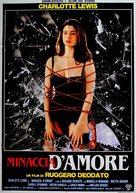 Minaccia d'amore - Italian Movie Poster (xs thumbnail)