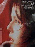 Trois couleurs: Rouge - DVD cover (xs thumbnail)