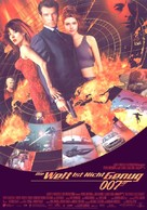 The World Is Not Enough - German Movie Poster (xs thumbnail)