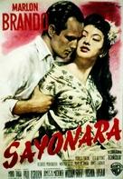Sayonara - German Movie Poster (xs thumbnail)