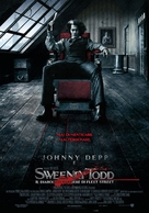Sweeney Todd: The Demon Barber of Fleet Street - Italian Movie Poster (xs thumbnail)