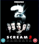 Scream 3 - British Blu-Ray cover (xs thumbnail)
