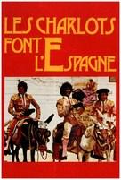 Les Charlots font l'Espagne - French DVD cover (xs thumbnail)