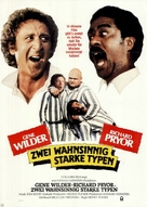 Stir Crazy - German Movie Poster (xs thumbnail)