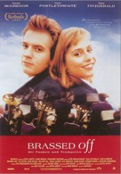 Brassed Off - German poster (xs thumbnail)