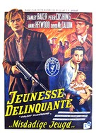 Violent Playground - Belgian Movie Poster (xs thumbnail)
