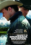 Brokeback Mountain - Italian Movie Poster (xs thumbnail)
