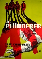 The Plunderers - German Movie Poster (xs thumbnail)