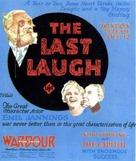 Der letzte Mann - Movie Poster (xs thumbnail)