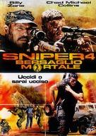 Sniper: Reloaded - Italian DVD cover (xs thumbnail)