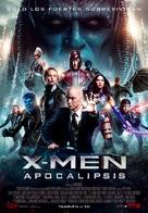 X-Men: Apocalypse - Spanish Movie Poster (xs thumbnail)