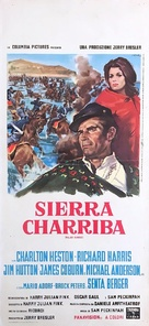 Major Dundee - Italian Movie Poster (xs thumbnail)