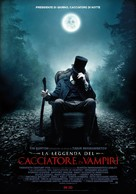 Abraham Lincoln: Vampire Hunter - Italian Movie Poster (xs thumbnail)
