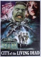 Paura nella città dei morti viventi - Pakistani Movie Poster (xs thumbnail)