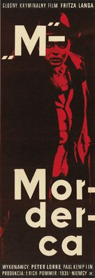 M - Polish Movie Poster (xs thumbnail)