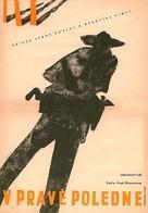 High Noon - Czech Movie Poster (xs thumbnail)