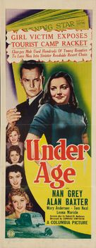 Under Age - Movie Poster (xs thumbnail)