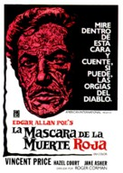The Masque of the Red Death - Spanish Theatrical poster (xs thumbnail)