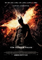 The Dark Knight Rises - Finnish Movie Poster (xs thumbnail)