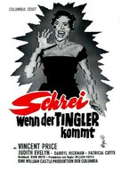 The Tingler - German Movie Poster (xs thumbnail)