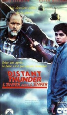 Distant Thunder - French VHS movie cover (xs thumbnail)