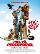 Furry Vengeance - Danish Movie Poster (xs thumbnail)