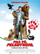 Furry Vengeance - Danish Movie Poster (xs thumbnail)