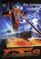 Cementerio del terror - German DVD movie cover (xs thumbnail)