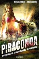 Piranhaconda - French DVD cover (xs thumbnail)