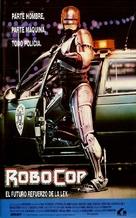 RoboCop - Spanish Movie Poster (xs thumbnail)