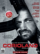 Coriolanus - Brazilian Video release poster (xs thumbnail)