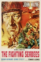 The Fighting Seabees - Italian Movie Poster (xs thumbnail)