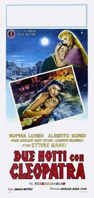 Due notti con Cleopatra - Italian Theatrical poster (xs thumbnail)