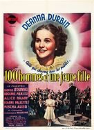 One Hundred Men and a Girl - Belgian Movie Poster (xs thumbnail)