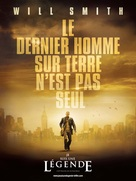 I Am Legend - French Movie Poster (xs thumbnail)