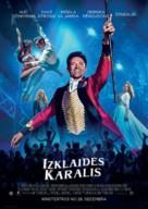 The Greatest Showman - Latvian Movie Poster (xs thumbnail)