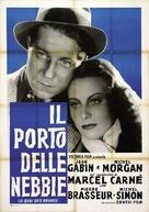 Le quai des brumes - Italian Movie Poster (xs thumbnail)
