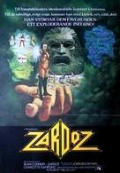 Zardoz - Swedish Movie Poster (xs thumbnail)