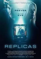 Replicas - Finnish Movie Poster (xs thumbnail)