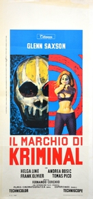 Il marchio di Kriminal - Italian Movie Poster (xs thumbnail)