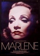 Marlene - German Movie Poster (xs thumbnail)