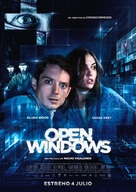 Open Windows - Spanish Movie Poster (xs thumbnail)