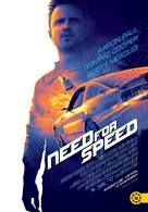 Need for Speed - Hungarian Theatrical poster (xs thumbnail)
