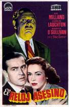 The Big Clock - Spanish Movie Poster (xs thumbnail)